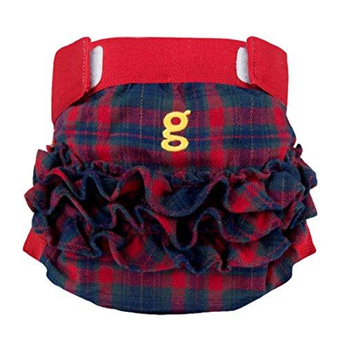 gNappies Glen Lassie Weiche gPants aus Baumwolle, Größe S