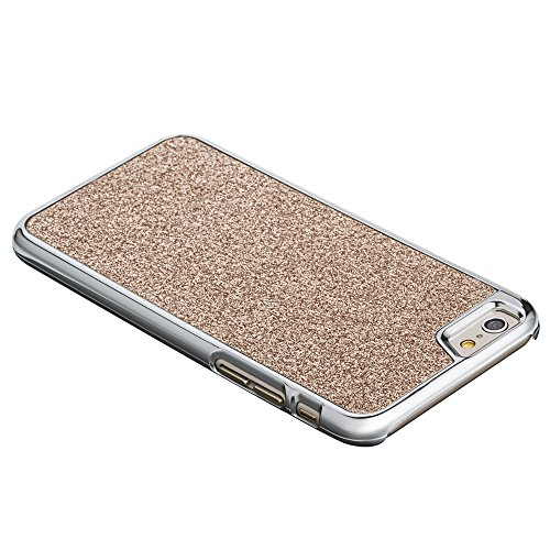 Fosmon Apple iPhone 6 Plus Case (GLITTER) BLING Design Protective Back Snap Cover