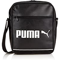 Puma, Borsa Campus Flight Bag, Nero (Black/Whisper