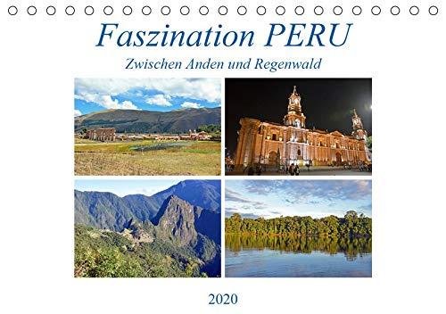 Faszination PERU, zwischen Anden und Regenwald (Tischkalender 2020 DIN A5 quer): Ein Land mit traumhafter Natur und großer Geschichte (Monatskalender, 14 Seiten ) (CALVENDO Orte)