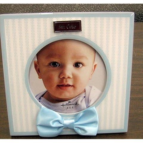 Hallmark Baby Boy FRG7069 Mr. Cute 4 X 4 Photo Frame by N/A by Unknown