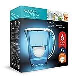 Aqua Optima 6-Monate-Packung – Oria Tischwasserfilter mit 3 x 60-Tage-Wasserfilterkartuschen - 3