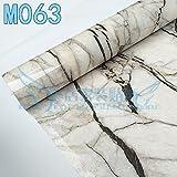 Ölbeständig Wasserfest Aufkleber Küche Arbeitsplatten Marmor Fliesen Haushalt Verdickte Selbstklebende Aufkleber Groß, Typ M 063,60 Cm*5 M