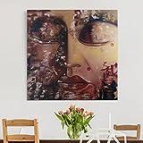 Bilderwelten Leinwandbild - Spirit Of Buddha - Quadrat 1:1, Leinwand Leinwandbild - XXL Leinwanddruck Wandbild, Größe HxB: 120cm x 120cm