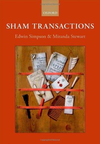 Sham Transactions by Edwin Simpson (2013-12-30)