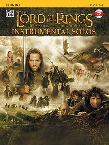 The Lord of the Rings Instrumental Solos: Horn in F, Book & CD: French Horn
