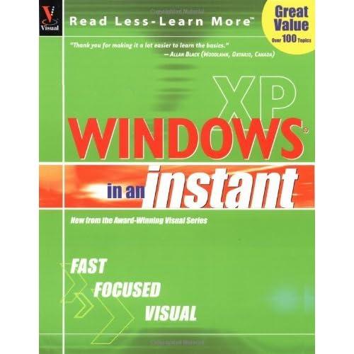 Windows XP in an Instant by Ruth Maran (2001-09-01)