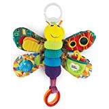LAMAZE Freddie The Firefly - Clip on Pram & Pushchair Newborn Baby Toy, Sensory Toy for Babies Boys & Girls From 0 - 6 Months