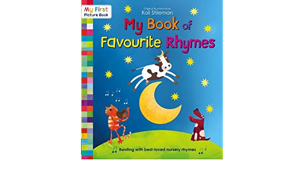 My Book Of Favourite Rhymes My First Picture Book Ebook Kali