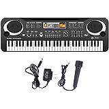 Compact 61 Keys Music Electronic Keyboard Key With Microphone Mic