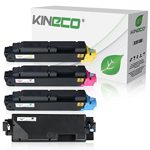 Kineco 4 Toner kompatibel für Kyocera TK-5140 ECOSYS M 6030 CDN M 6530 P 6130 -