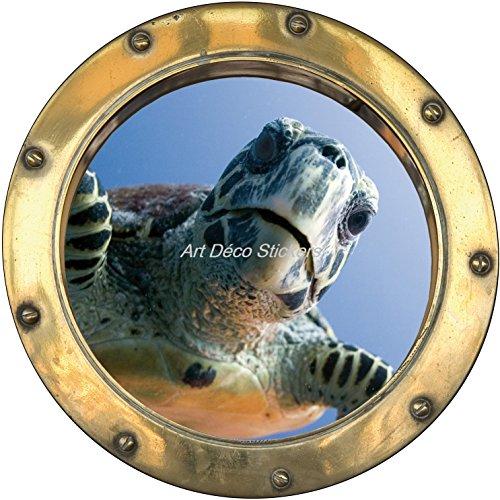 stickersnews-sticker-hublot-trompe-l-oeil-tortue-dimensions-30x30cm
