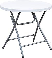 SVITA Buffettisch Kombi mit Tisch und Bank Bierbank Klapptisch Esstisch Camping-Set 180cm