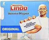 Mastro Lindo - La Gomma Magica, Con Doppio Strato - 4 confezioni da 2 gomme [8 gomme]