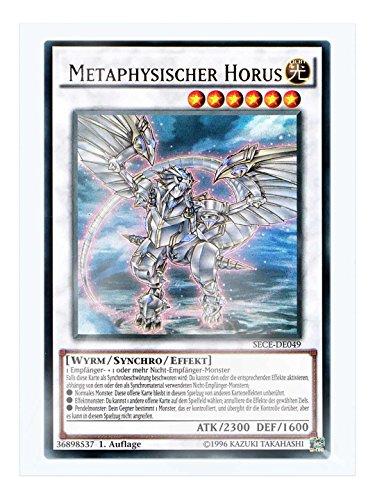 SECE-DE049 Metaphysischer Horus 1. Auflage im Set mit original Gwindi Kartenschutzhülle