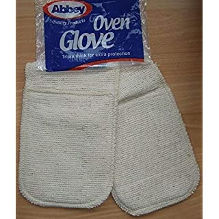 Double Oven Glove Abbey Triple Thickness