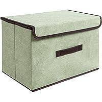 Preisvergleich für Nlj-YMS Faltbare Aufbewahrungsbox Kleider Aufbewahrungsbox 2 Stück