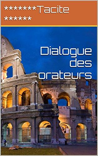 Livre Dialogue des orateurs epub, pdf