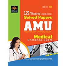 13 Years Solved Papers AMU Medical Entrance Exam