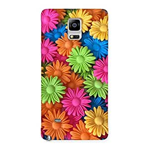Special Art Sunflower Print Back Case Cover for Galaxy Note 4