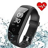 Montre Connectée, ANEKEN Bracelet Connectée Fitness Tracker d'Activité Sport Smart Watch Montre...