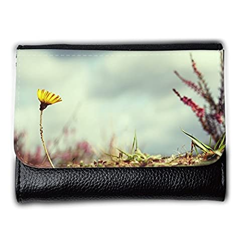 Portemonnaie Geldbörse Brieftasche // M00312792 Blume Absenkbetrieb Victor Natur // Medium Size Wallet