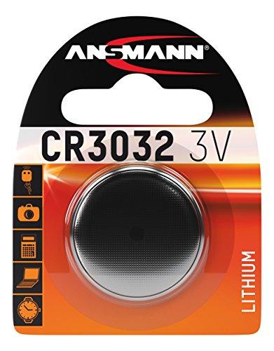 ANSMANN 1516-0013 Knofpzelle Batterie Lithium CR 3032 - 3V