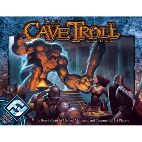 Fantasy Flight Games TJ05 - Cave Troll 2nd Edition, englische Ausgabe