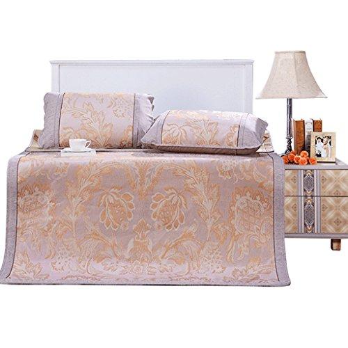 J&X 1,8 m Bett kühlen Matratzenmatten 3-teilig 1,5 m doppelt faltbar Sommer Einzel Klimaanlage Pad (Color : 180 * 200CM) -