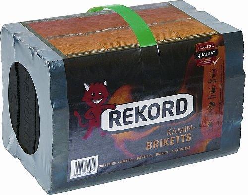"Preisvergleich Produktbild , , Lausitzer Record"" Brikett Folienpack 10 kg"