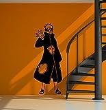 WandTattoo Naruto–Pain, vinilo, negro, medium