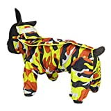 Zhhlinyuan Pet Hunde Regenmantel Leichte Kapuzenponcho Regenhülle - Outdoor Atmungsaktive Haustier Jacke Regenbekleidung, Available in Colors