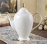 TIANLIANG04 Becher Kaffeetassen Kaffee Tasse Anzug Haushalt Keramik Tee Tee Tee Am Nachmittag Kaffee Set, (Big Pot)