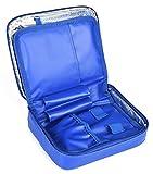 DCCN Insulin Kühltasche Wasserdichte Diabetiker Tasche für Medikamente Thermotasche