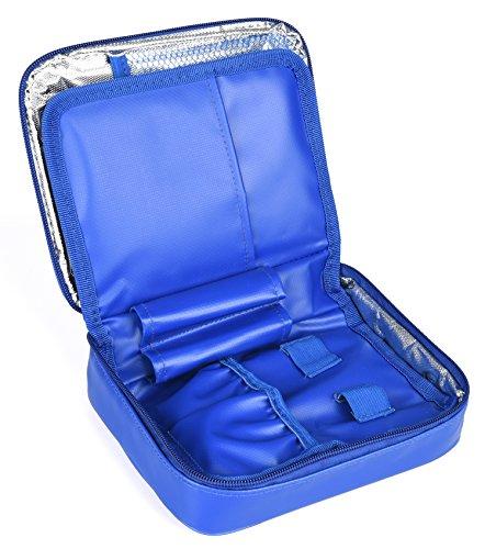 Dccn astuccio termico portatile, per medicinali e insulina, borsa da viaggio per diabetici