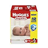 Huggies Snug and Dry Diapers, Size 1, 112 Count by Huggies