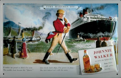 affiche-metallique-avec-johnnie-walker-whisky-ecossais-navire-qualite-avec-visiere