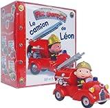 Coffret P'tit garçon - Le camion de Léon : Le livre + le camion de Léon
