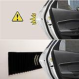 RMAN - PU Türkantenschutz Auto Selbstklebend Türkantenschoner Kantenschutz für Garage Autotüren Garagenprotector 2000 x 170 x 2.5mm