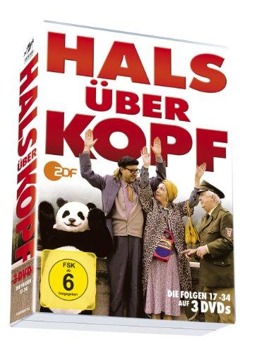 Hals über Kopf - Folgen 17-34 auf 3 DVDs!