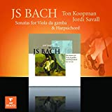 CD JS BACH SONATAS FOR VIOLA DA GAMBA & HARDSICHOR