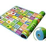 Lemish Water Resistant Baby Play Matt Floor Mat 120 x 180 cm