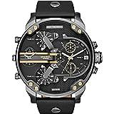 Diesel - DZ7348 - Montre Homme - Quartz - Analogique - Bracelet cuir noir