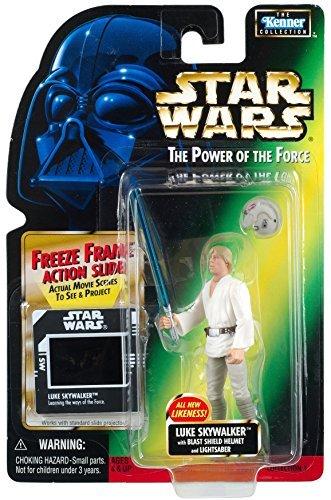 Star Wars Action Figur 69881 - Luke Skywalker with Helm und Lichtschwert (inkl.Freeze Frame Action Slide)
