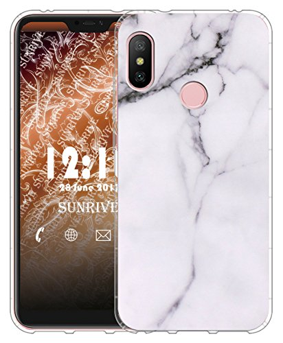 add6bb51db6 Sunrive Funda para Xiaomi Mi A2 Lite 5,84 Pulgadas, Silicona Slim Fit Gel