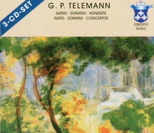 Telemann-Suite für Flöte