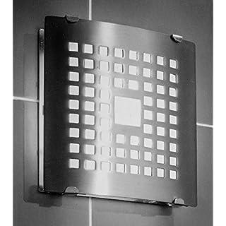 Ventilator 100 N Chrom Glas Abdeckung