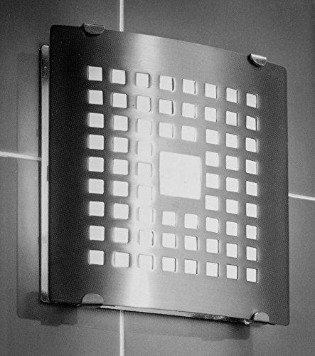 Preisvergleich Produktbild Ventilator 100 N Chrom Glas Abdeckung