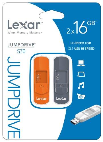 Lexar JumpDrive S70 USB 3.0 16GB Pen Drive (White & Grey)