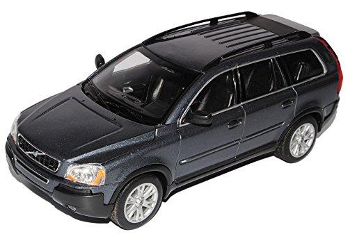 volvo-xc90-xc-90-grau-grey-metallmodell-1-24-welly-modellauto-modell-auto